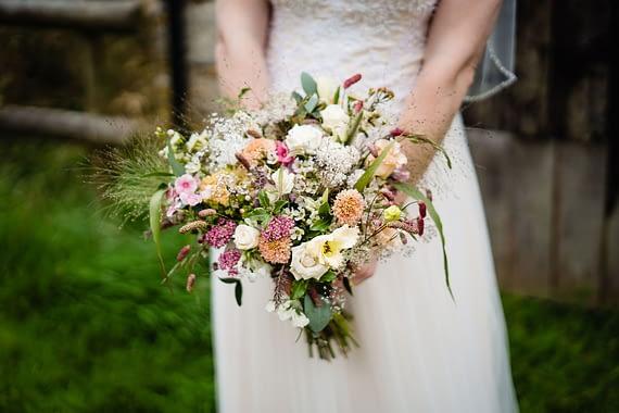 floral bouquet micro wedding photographer