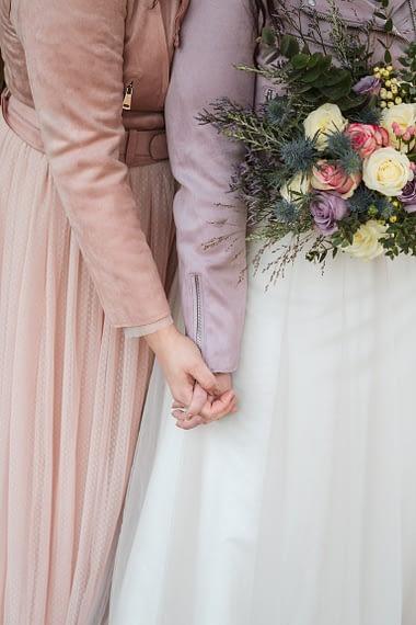 lgbt cotswold wedding winter