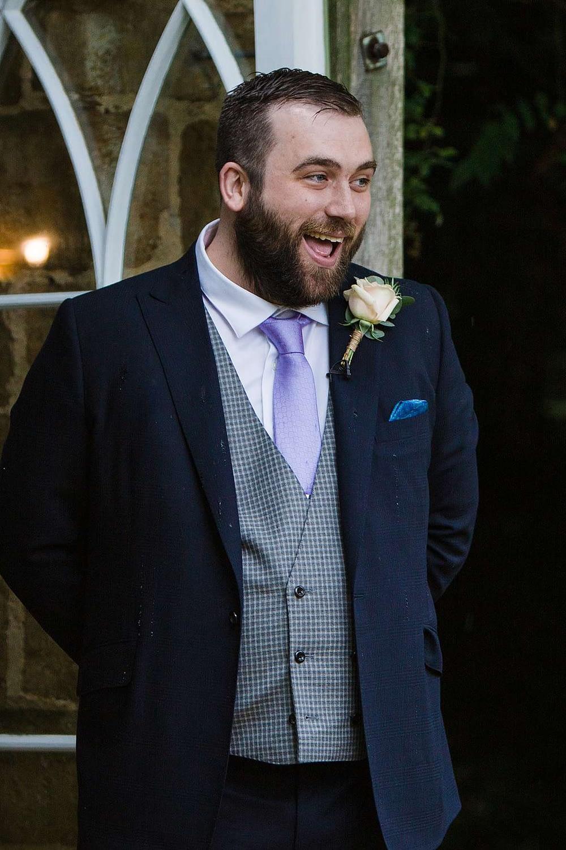 happy daddy gloucester photography wedding