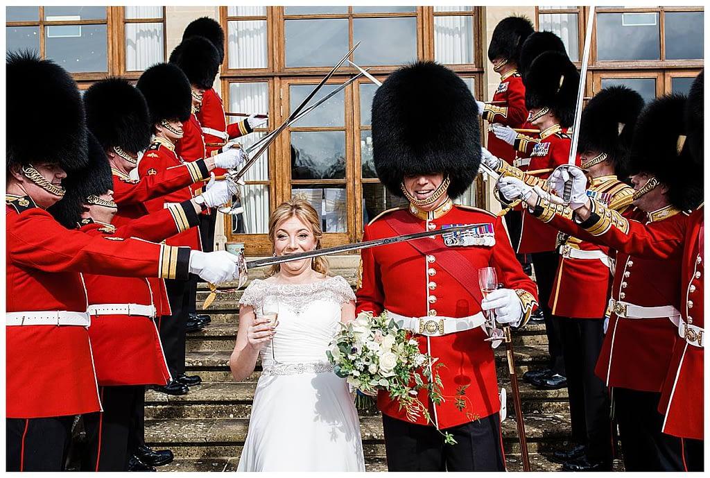 queens guards wedding luxury wedding wiltshire wedding photographer