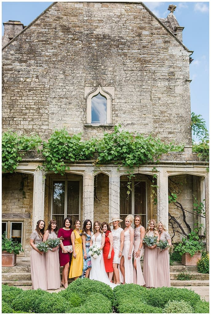 hen do Barnsley House wedding photography