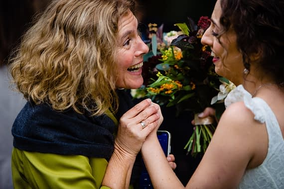 happy guest micro wedding photographer gloucestershire