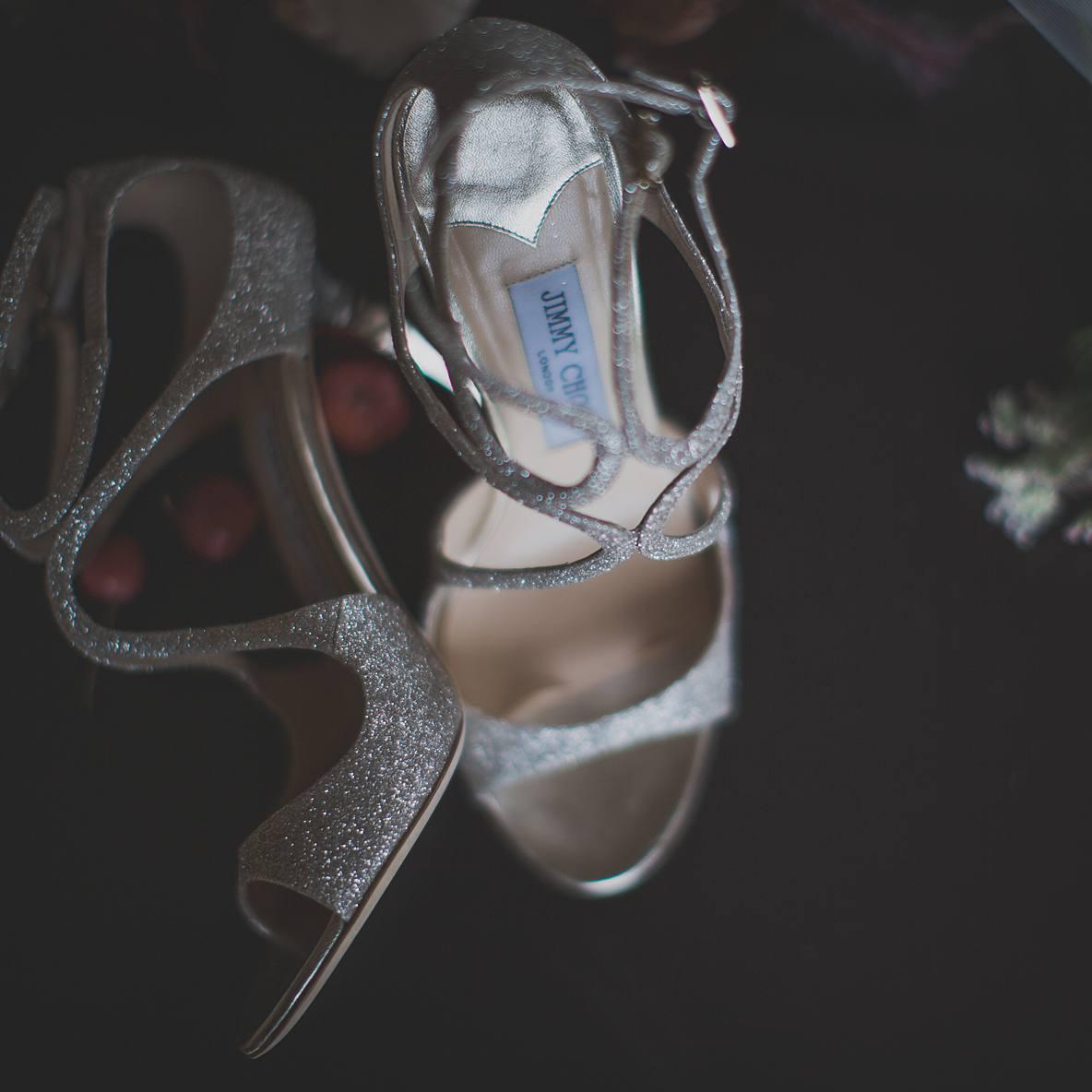 christmas wedding shoes gloucestershire wedding photographer
