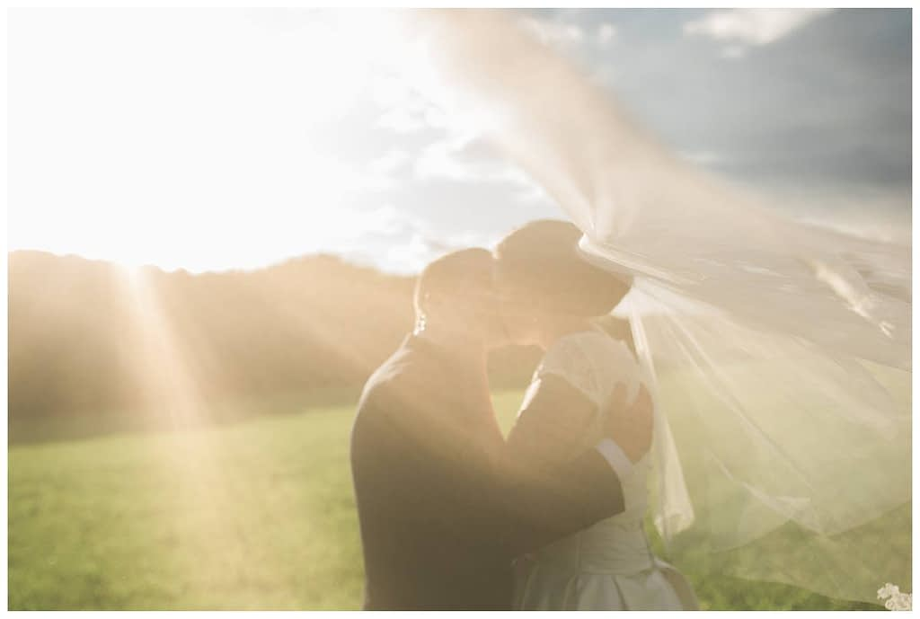 veil shot gloucestershire wedding photography