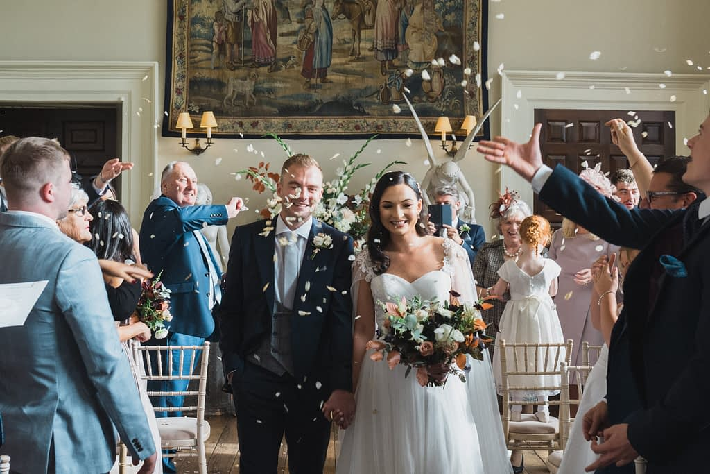 Elmore court wedding autumn
