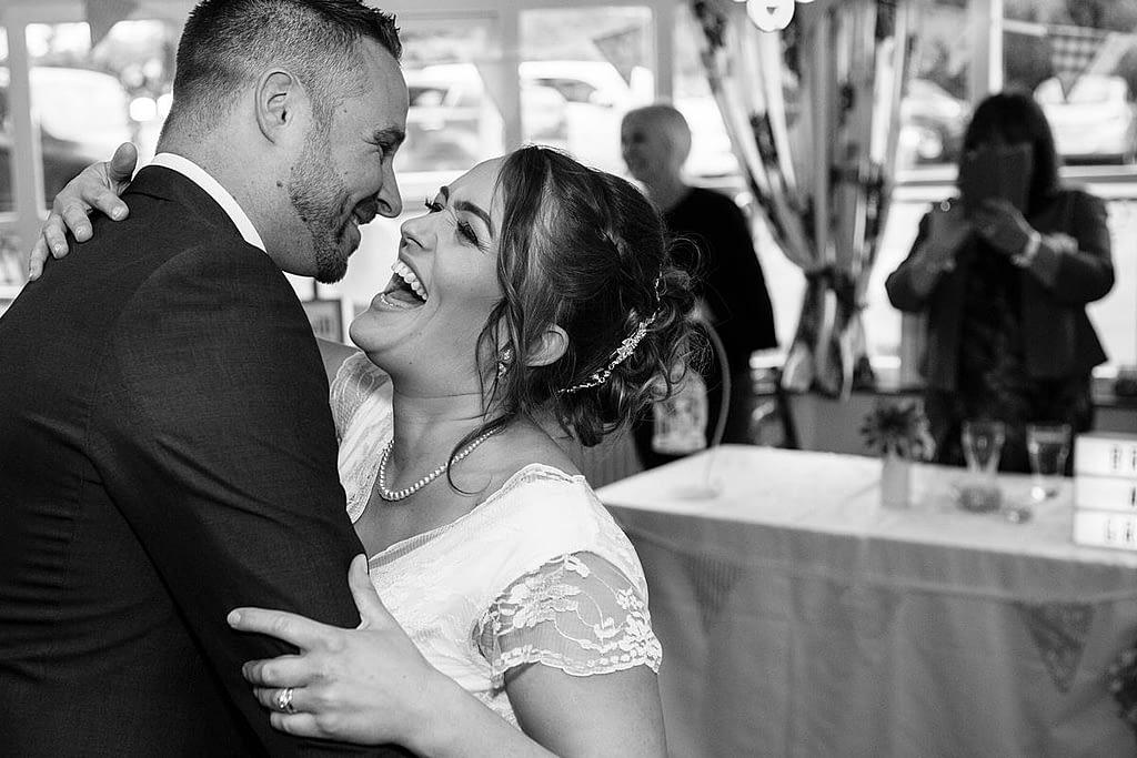 Bristol wedding surprise