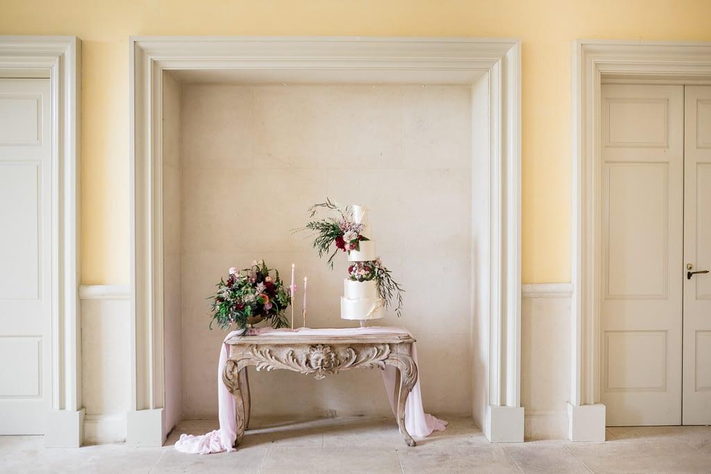 Euridge Manor wedding cake photographer