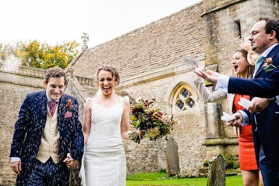 confetti micro wedding photographer gloucestershire