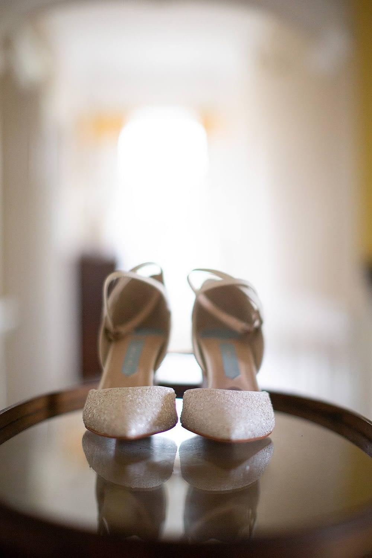 sparkly wedding shoes gloucestershire wedding photographer