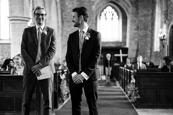 micro wedding photographer church ceremony