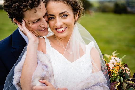 happy couple together micro wedding photographer wiltshire