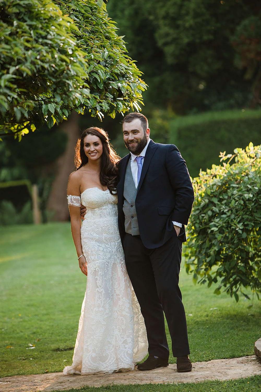 couple together sunset cheltenham wedding photography