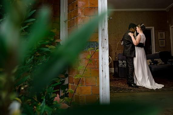 first dance micro wedding photographer