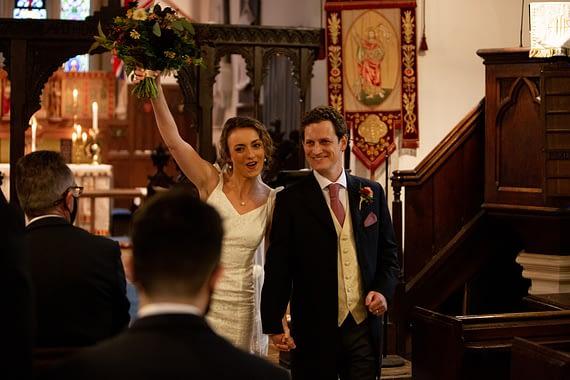 couple married micro wedding photographer gloucestershire