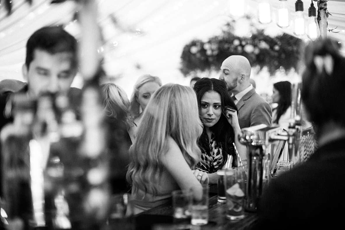 wedding guests cotswold photography
