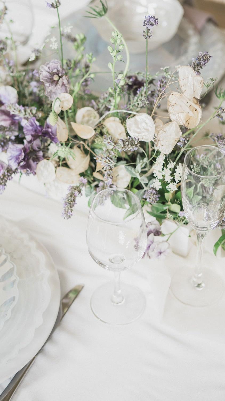lavender and purple poppy