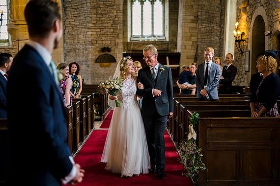 bride and dad covid wedding micro wedding photographer