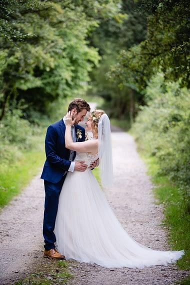 beautiful couple covid micro wedding photographer