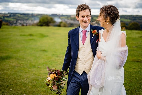 field wedding micro wedding photographer gloucestershire