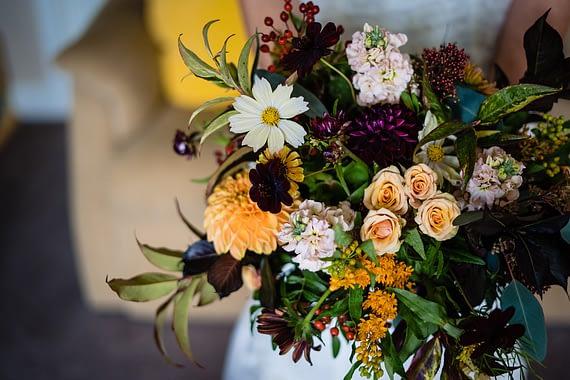 micro wedding photographer the roseshed florist