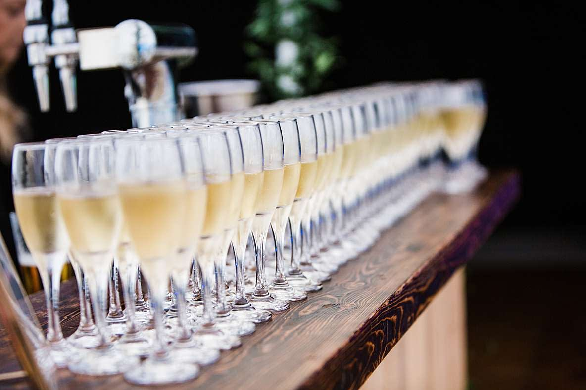 champagne gloucester photography wedding